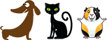 Pet Care Services Icons